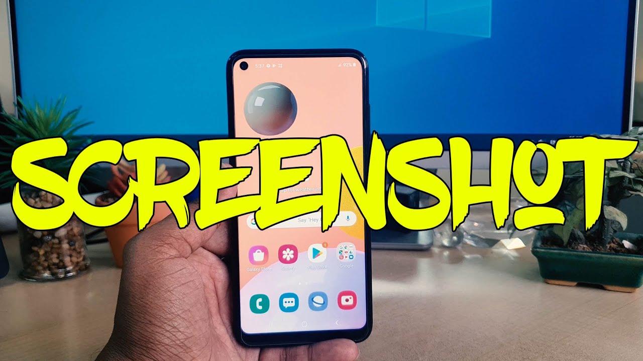 Samsung Galaxy A9: How to Take Screenshot
