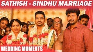 Sathish Wedding Candid Moments