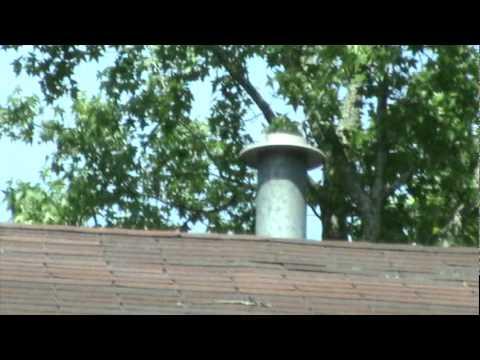 Strange roof leak water heater vent cap youtube - Roof air vent leaking water ...