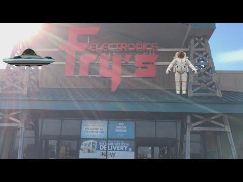 FRY'S ELECTRONICS IS DEAD!!!!