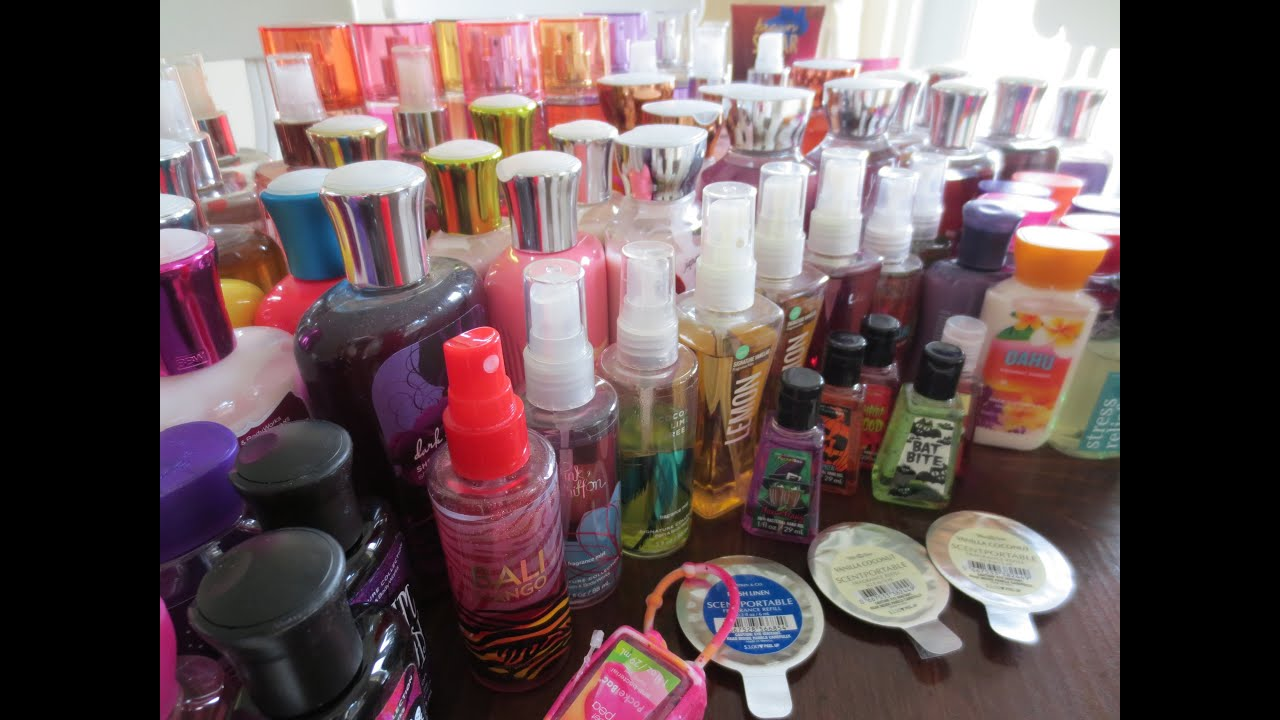 My Bath Amp Body Works Collection Youtube