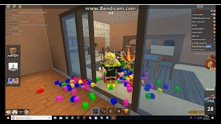 Roblox MM2 Video: Using Pixel Knife With Bitsplosion Effect