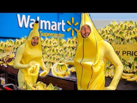 Buying ALL The Bananas.. AS Bananas!