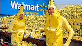 buying all the bananas as bananas