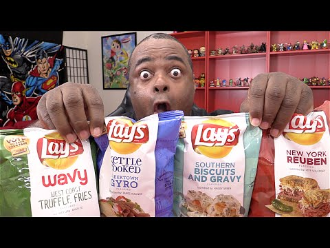 WEIRD LAYS CHIPS TASTE TEST!