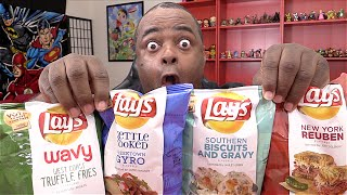 WEIRD CHIPS TASTE TEST! | Lamarr Wilson