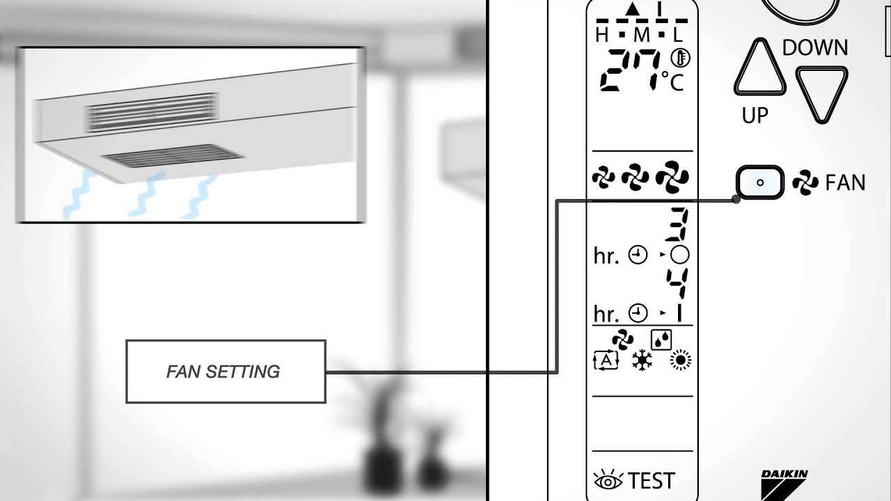 Daikin - animated operation manual - FDXS-F
