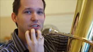 Playing Tuba:  Make a Better Sound by Dropping the Jaw