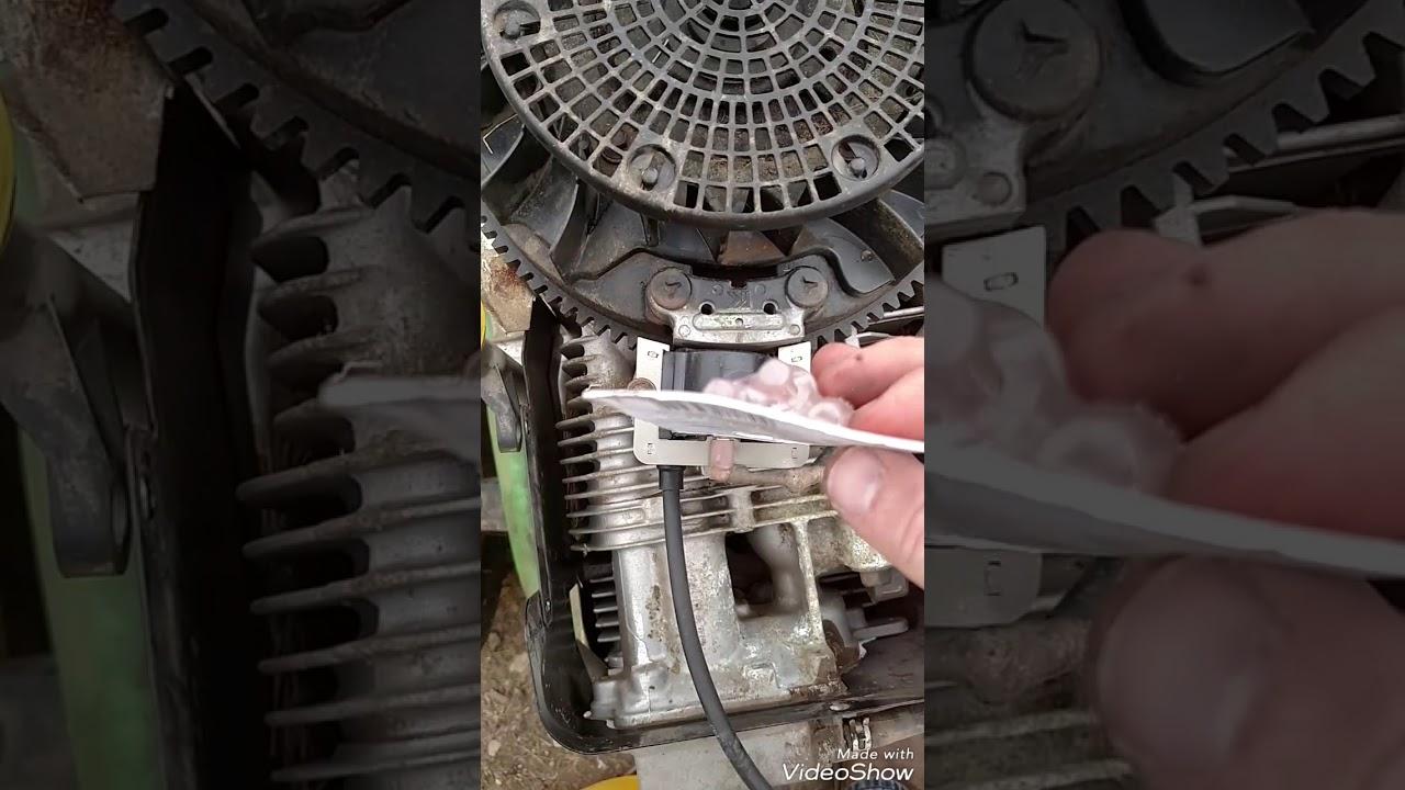 John Deere stx38 lawnmower ignition coil