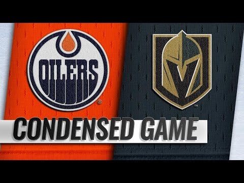 04/01/19 Condensed Game: Oilers @ Golden Knights