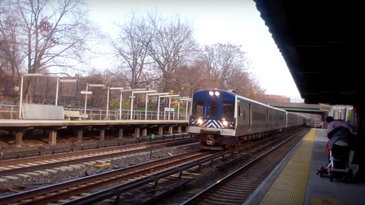 railfaning botanical gardens metro north railroad station youtube