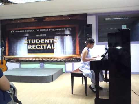 Nam Phuong recital in the Philippines Mar 28, 2015