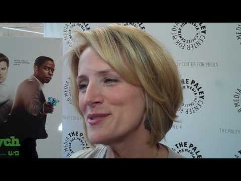 Psych: Kirsten Nelson at Paley Event