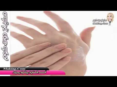 أسس العناية ببشرة يديك | طرق العناية بالبشرة - اسس واسرار العناية بالبشرة | كيفية العناية بيديك