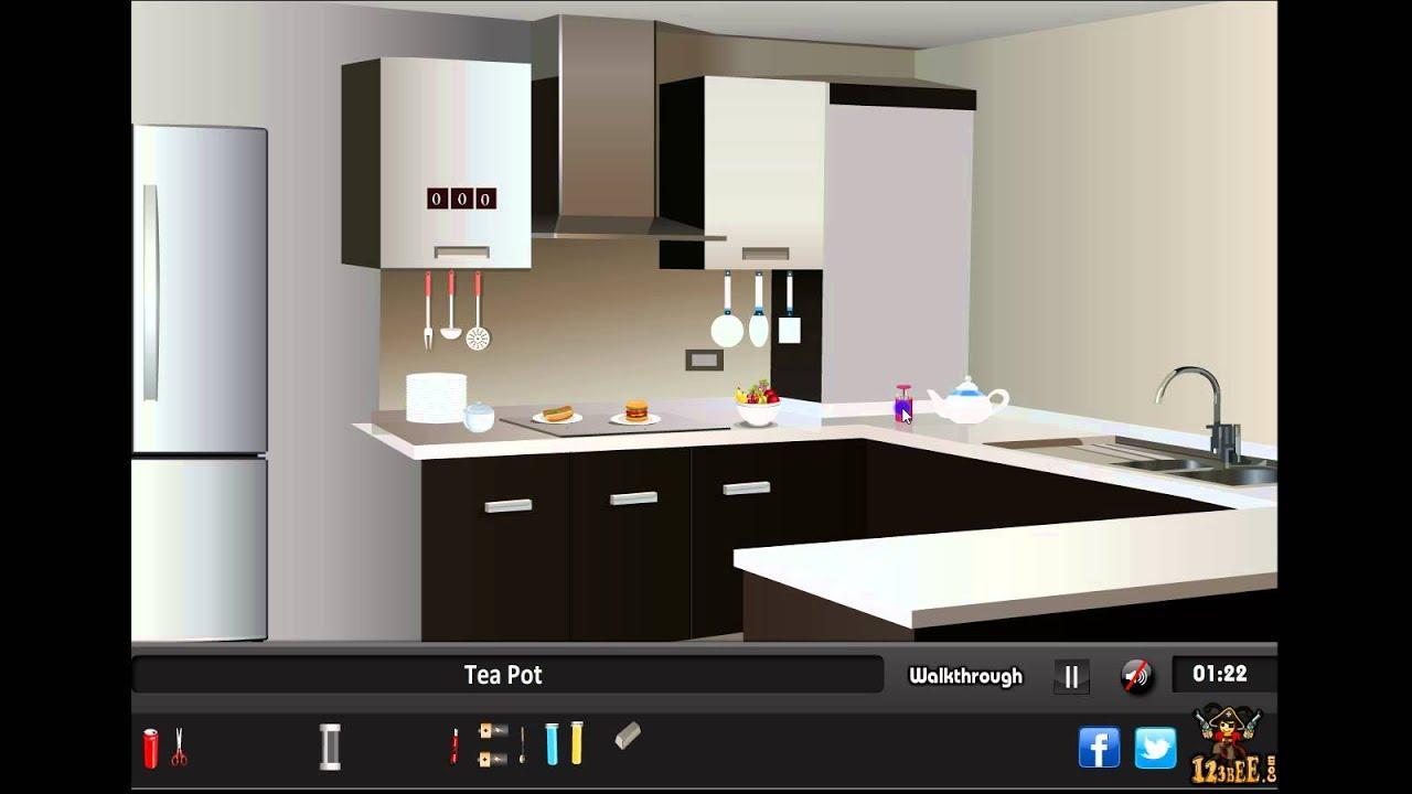 Modern Kitchen Escape Walkthrough