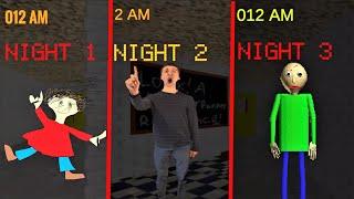 BALDI'S BASICS IN FIVE NIGHTS!!   Baldi's Basics