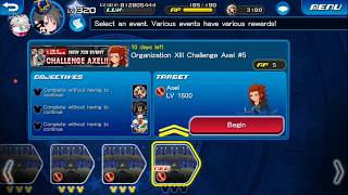 [KHUx Event] New XIII Event Challenge Axel - Organization XIII Challenge Axel 5/13