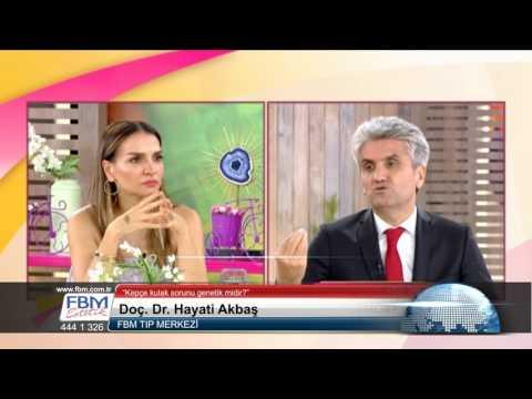 Doç.Dr.Hayati Akbaş-Kepçe kulak sorunu genetik midir?-Show Tv