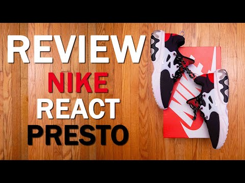 The MOST comfortable sneaker of 2019? || Nike React Presto Review and On Feet thumbnail
