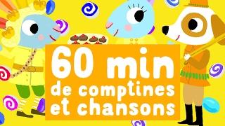 Cover images 60 minutes de chansons avec Pinpin et Lili