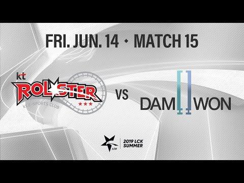 KT vs 담원 | Match15 H/L 06.14 | 2019 LCK 서머