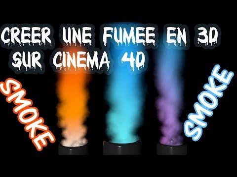 Tutoriel Cinéma 4D_Créer une très belle fumée en 3D(sans plugin) - FLASH DESIGN