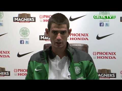 Celtic FC - Nir Biton post-match media conference, St Johnstone