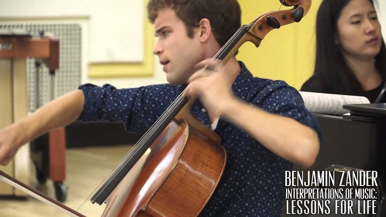 Benjamin Zander Masterclass 2.1 (Part 5) Tchiakovsky Rococo Variations for cello