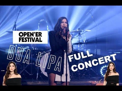 DUA LIPA - FULL CONCERT I OPENER FESTIVAL 2017 I GOPRO HD