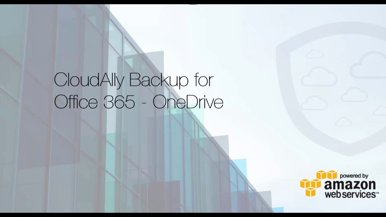 OneDrive Backup Video Demo - Backup on cloud made easy