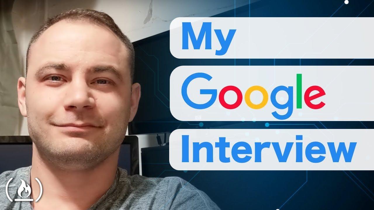 My Google Job Interview
