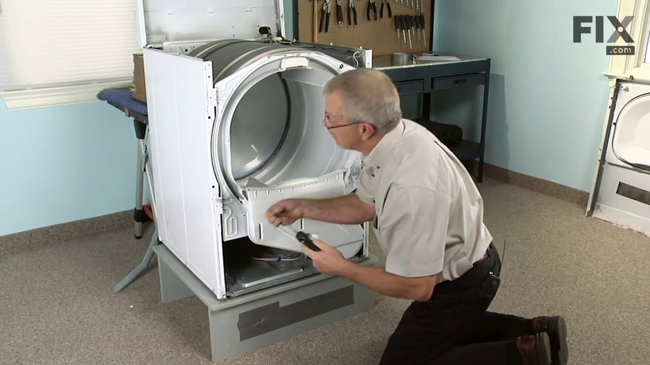 small resolution of amana dryer repair how to replace the high limit thermal fuse