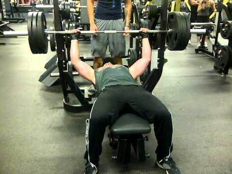 Steve Nash Comic Bench Press: 315lbs
