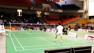 Czech Open 2017 - MS Kento Momota - Kai Shaefer - 1. game