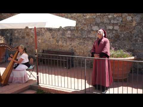 Dante's Divine Comedy in San Gimignano