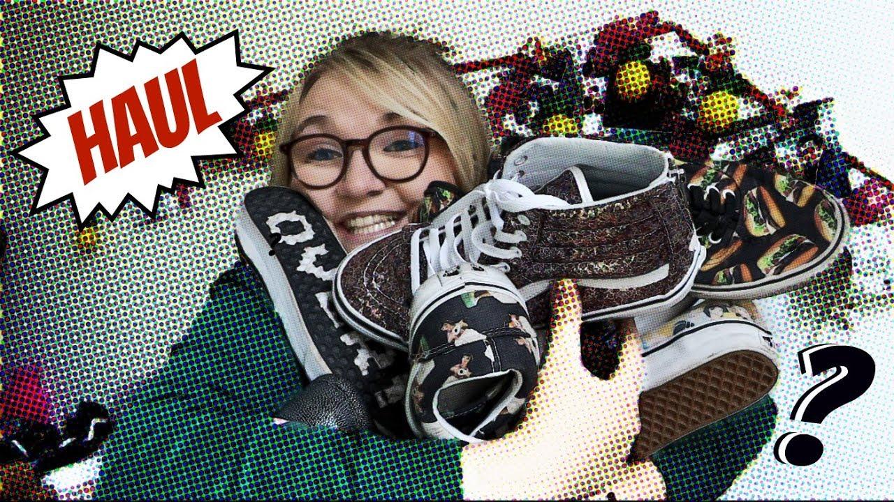 vans chaussures video