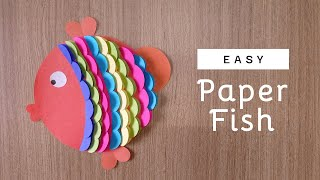 DIY Paper Fish | How to make paper Fish - Easy