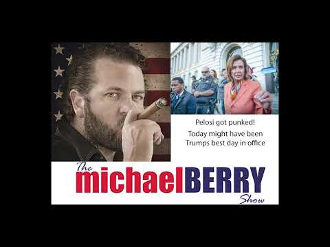 Michael Berry - Pelosi Gets Punked