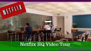 Cool Netflix HQ Tour 2014