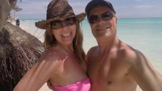 Domenic & Cathy in Punta Cana, Dominican Republic