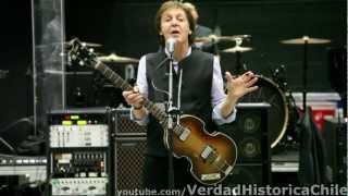 Paul McCartney en Juegos Olímpicos Londres 2012 Calidad HD: I Saw Her Standing There (Ensayo)
