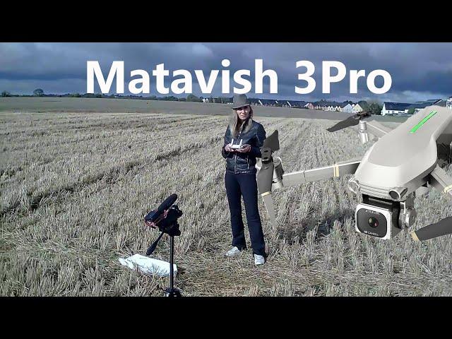 Matavish 3 Brushless GPS Camera Drone Flight Test Review