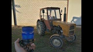 Niebieski kogut do ciągnika !? URSUS C360 3P