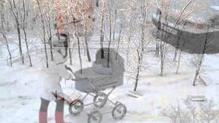 СНЕГОПАД В ГОРОДЕ  -Лирика муз Инструментальная А Доровский Снегопад автор клипа Зоя Боур-Москаленко