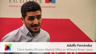 Entrevista a Adolfo Fernández, Client Service Director Millward Brown Spain
