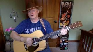 2093  - Good Old Boys -  Waylon Jennings vocal & acoustic guitar cover & chords