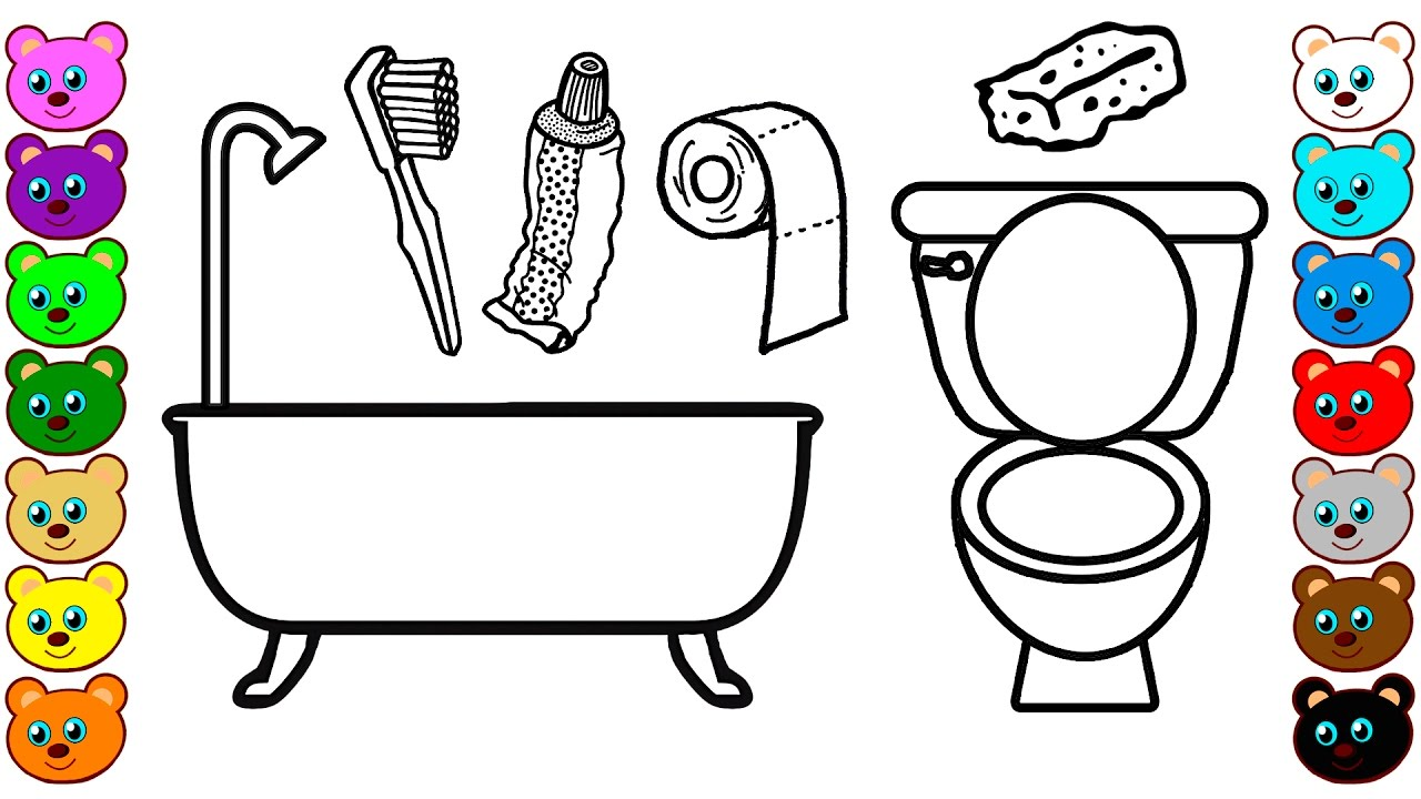 unique 10 bathroom sign coloring pages design inspiration