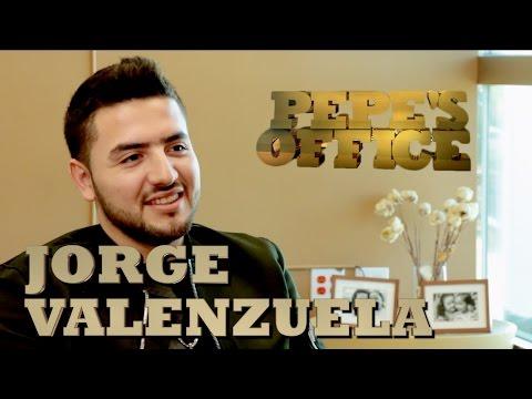JORGE VALENZUELA VISITA A PEPE GARZA - Pepe's Office