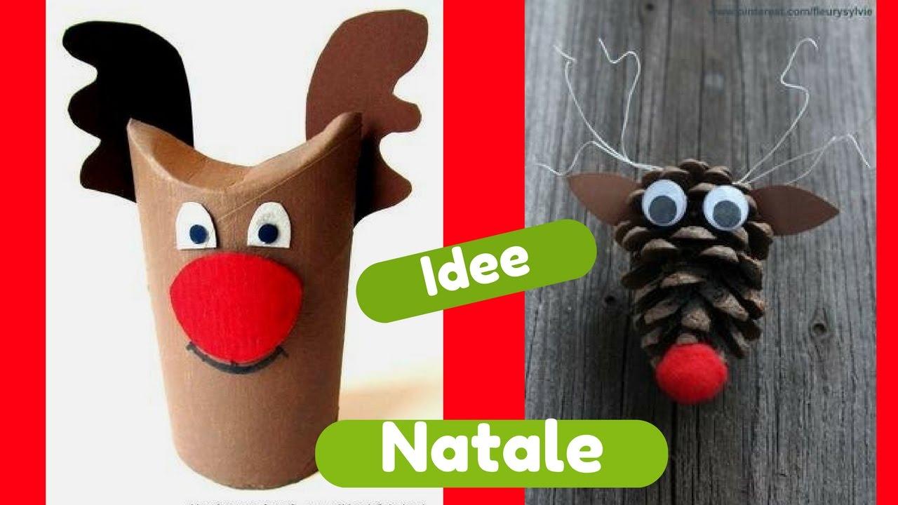 Natale 30 idee creative fai da te youtube for Idee fai da te