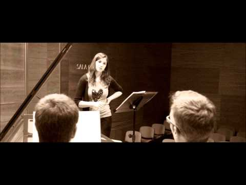 Premio Fin de Grado Profesional de Canto 2012 - Conservatorio Municipal